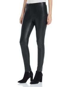cupcakes and cashmere Liliana Faux Leather Leggings | Bloomingdale's