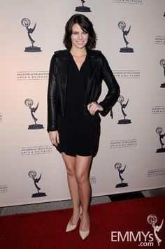 "Lauren Cohan arrives at An Evening with ""The Walking Dead"""