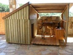 DIY outdoor dog beds for large dogs Big Dog House. I want one for my boxers so bad! Big Dogs, Large Dogs, Large Dog Bed Diy, Big Dog Beds, Cat Beds, Small Dogs, Big Dog House, Wooden Dog House, Tiny House