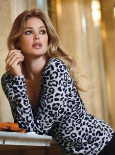 #Doutzen Kroes New Victoria's Secret Clothing -- 2013  #MyVSFallEdit