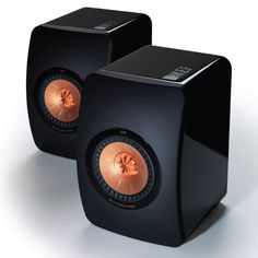 KEF LS50 Speakers. Highly recommended by my dealer.