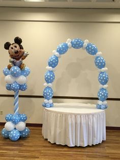 Baby Mickey Mouse balloons