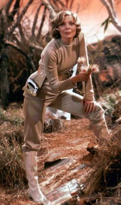 Barbara Bain, as Space: 1999's coolly efficient medical officer, Doctor Helena Russell.