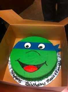 Ninja Turtles Cakes At Walmart birthday cook Pinterest Ninja