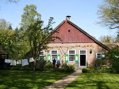 Arnhem Openluchtmuseum in Nederland. Boerderijtje uit Staphorst.