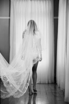 Another stunning veil shot. Hannah Millerick.