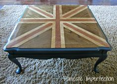 Union Jack Coffee Table Tutorial
