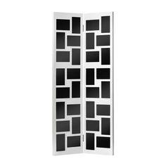 """Floor Standing Multi Frame, 32 Photo 4 x 6"""", White Wood"""