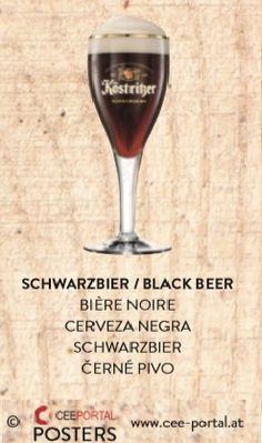 SCHWARZBIER / BLACK BEER BIÈRE NOIRE CERVEZA NEGRA SCHWARZBIER ČERNÉ PIVO Shopping, Black, Dark Around Eyes, Wine, Black People