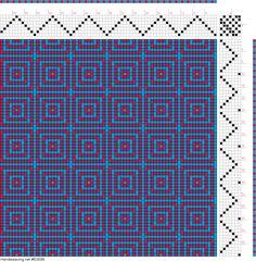 Weaving Projects, Weaving Art, Weaving Patterns, Loom Weaving, Dobby Weave, Knitting Charts, Weaving Techniques, Fiber Art, Knots