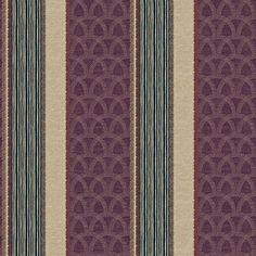Blue Mountain Detail Stripe Wallcovering, Beige/Plum