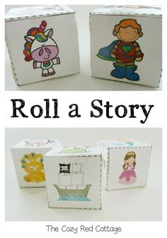 Roll a story...Story Dice.