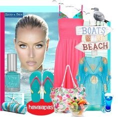 """""""#instantjoy with Havaianas"""" by myfavourites ❤ liked on Polyvore"""