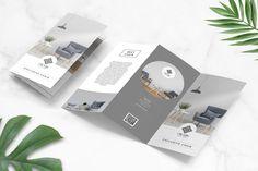 Interior Furniture Trifold Brochure by uicreativenet on Envato Elements Hotel Brochure, Brochure Layout, Brochure Template, Corporate Brochure, Magazine Layout Design, Book Design Layout, Design Design, Furniture Brochure, Leaflet Design