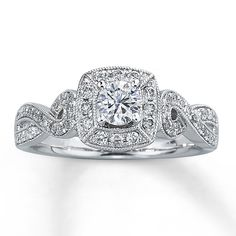 66b1d8ed9 7 Unique Jared Wedding Rings Vintage Inspired Engagement Rings, Dream  Engagement Rings, Kay Jewelers