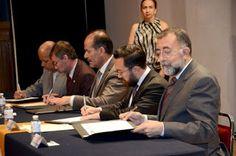 CONGRESO DEL ESTADO SIGNÓ CONVENIO POR LA CONMEMORACIÓN DEL CENTENARIO DE LA CONSTITUCIÓN POLÍTICA