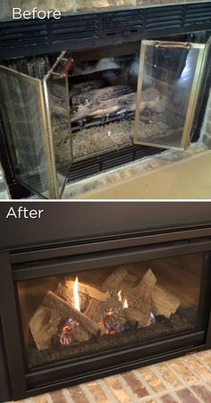Gas fireplaces fireplace makeovers and gas fireplace inserts