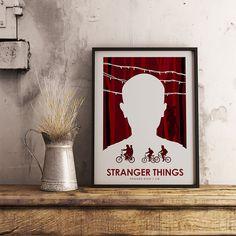 Stranger Things Poster Art Print TV Poster Wall Art