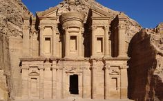 The Largest Monument in Petra