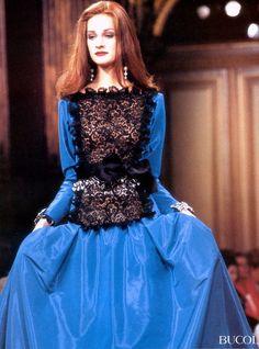 YSL 1991  Model : Valerie Jean Gardino