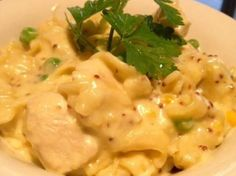 Recipe Chicken and Creamy Mustard Pasta by KrissyB, learn to make this recipe easily in your kitchen machine and discover other Thermomix recipes in Pasta & rice dishes. Cantaloupe Recipes, Radish Recipes, Pasta Dishes, Food Dishes, Rice Dishes, Risotto Dishes, Healthy Eating Recipes, Cooking Recipes, Cooking Time