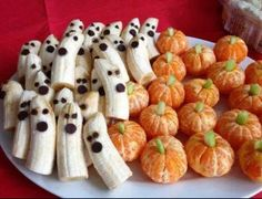 Cute Halloween snacks.