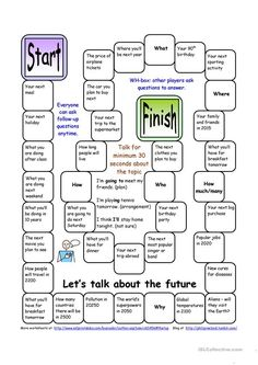 Board Game: Let's Talk about the Future