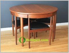 Reupholstered 60S70S Teak Dining Chairstabletons Of Retro Inspiration Danish Modern Dining Room Design Ideas