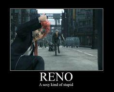 Reno from Final Fantasy VII