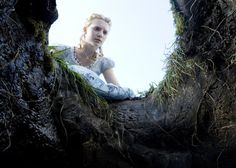 Mia Wasikowska Photos from Alice in Wonderland