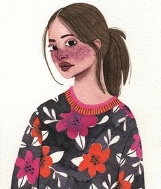 By brunna mancuso ( art and expression in 201 Cute Illustration, Character Illustration, Arte Gcse, Art Couple, Art Vintage, Wow Art, Art Graphique, Pretty Art, Illustrations And Posters