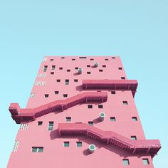 A journey through shapes and colours of lesser-known architectures of Milan