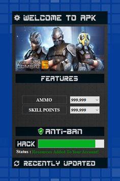 modern combat 5 hack apk
