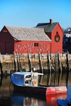 """The famous """"Motif #1"""" in Rockport, MA"""