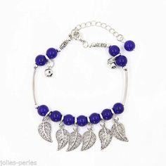 JP Summer Fashion National Flavor String Beaded Hollow Leaves Pendant Anklet