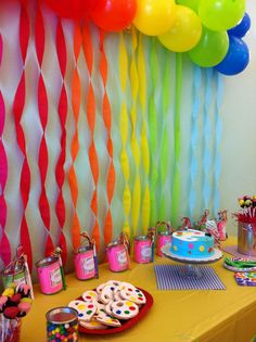 So Perf!: Birthday Party for an 8 year old girl - Rocker theme