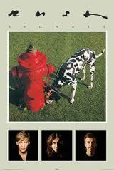 Rush Signals-a personal fave--the poster AND the album.  (Image from http://www.ebay.com/itm/Rush-Rock-Band-Signals-Album-Cover-Poster-/300779311251)