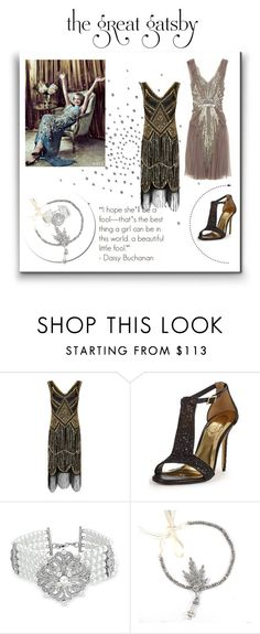 """I love The Great Gatsby 1920 Style"" by guery ❤ liked on Polyvore featuring Ted Baker and Bling Jewelry"