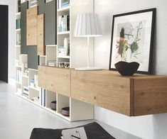 19 furnishing examples with lowboards - Decoration Solutions Tv Wall Furniture, House Interior, Furniture, Living Room Units, Home, Interior, Home Office Design, Diy Industrial Furniture, Home Decor