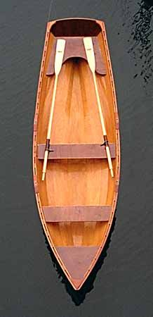 wineglass wherry from pygmy boats… – Now YOU Can Build Your Dream Boat With Over 500 Boat Plans! Wooden Row Boat, Wooden Sailboat, Wooden Boat Building, Boat Building Plans, Old Boats, Small Boats, Canoa Kayak, Wood Boat Plans, Classic Wooden Boats