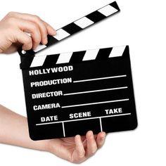 Claquete de Filme Hollywood para Cineasta Profissional 18x20cm