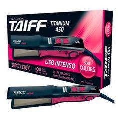 Titanium 450 Colors Taiff - Prancha / Chapinha de Cabelo - Taiff com as melhores condições você encontra no Magazine Voceflavio. Confira!