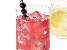 For the perfect summer sipper, serve guests Blueberry and Basil Lemonade.