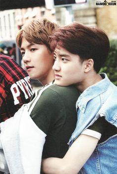 [ BAEKHYUN & D.O. ] - Die Jungs Photobook #exo