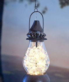 Look at this Solar Honeysuckle Lantern on #zulily today!