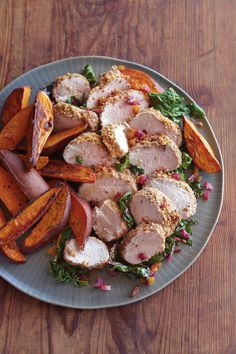 Roasted Pork Tenderloin with Fennel Seed and Bread Crumb Crust