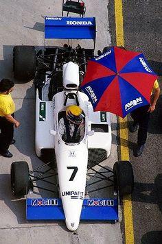 Roberto Moreno - Ralt RT21/87 [2] Honda - Ralt Racing Ltd - 1987 Intercontinental Formula 3000 Championship - © Sutton Motorsport Images