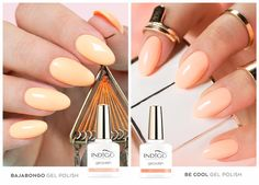 Be Cool or Bajabongo? Indigo Nails, Better Than Yours, Peach Orange, Nail Arts, Gel Polish, My Nails, Manicure, Nail Designs, Workshop