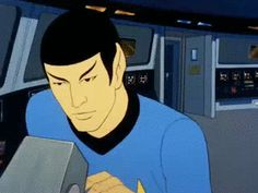 sweartrek:Report, Mister Spock