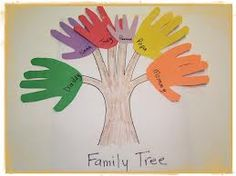 family preschool craft